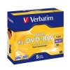 DVD+RW 4x, 1.4GB, 8см Mini DVD, Verbatim (Jewel Case) [43565/43564]