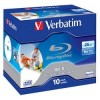 Verbatim Диск BD-R 25Gb 6x Printable Surface Scratchguard+ Jewel Case (10шт) (43713)